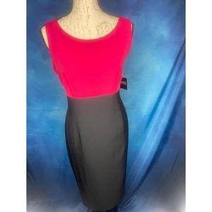 NWT Lipstick and Black Dress by KASPER